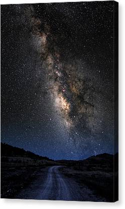 The Milky Road Version Two Canvas Print