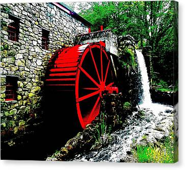 The Mill At The Wayside Inn Canvas Print