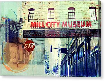 The Mill District In Minneapolis Canvas Print