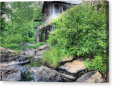 The Mill Canvas Print by JC Findley