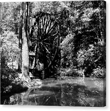 The Mill Wheel Canvas Print