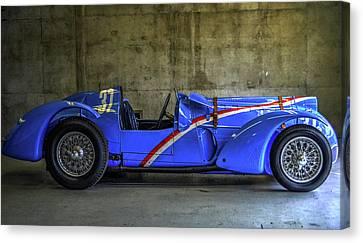 The Million Franc Car Canvas Print