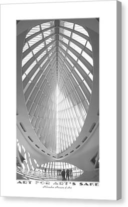 The Milwaukee Art Museum Canvas Print by Mike McGlothlen