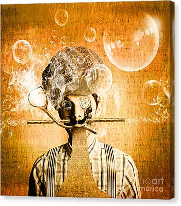 The Mind Machine Canvas Print by Jorgo Photography - Wall Art Gallery