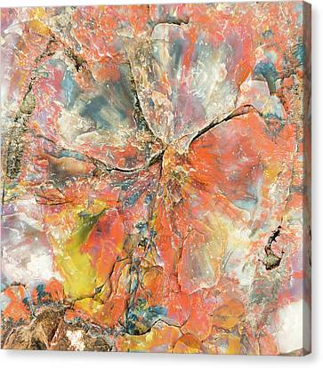 The Mineral Tree Canvas Print by Joseph Smith