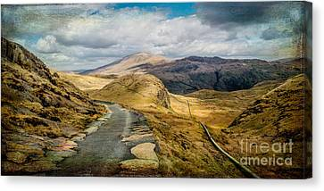 The Miners Track  Canvas Print by Adrian Evans