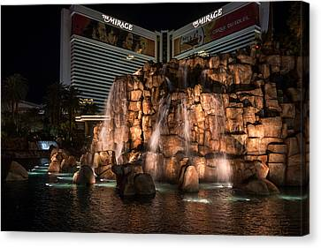 Canvas Print featuring the photograph The Mirage by Ryan Photography