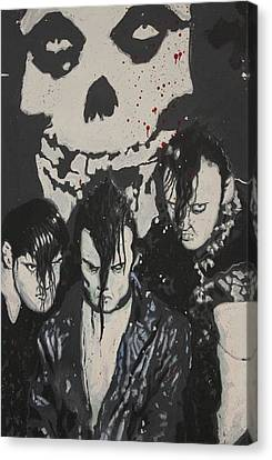 The Misfits Canvas Print by Dustin Spagnola
