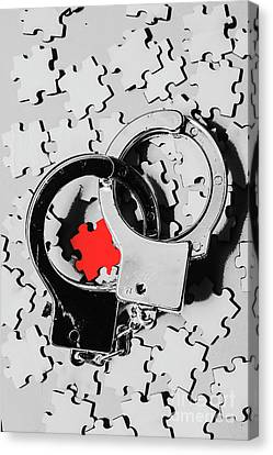 The Missing Puzzle Piece Canvas Print by Jorgo Photography - Wall Art Gallery