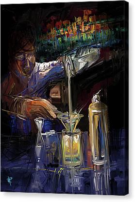 The Mixologist Canvas Print