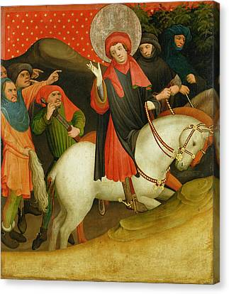 The Mocking Of Saint Thomas Canvas Print