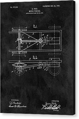 The Model T Patent Canvas Print