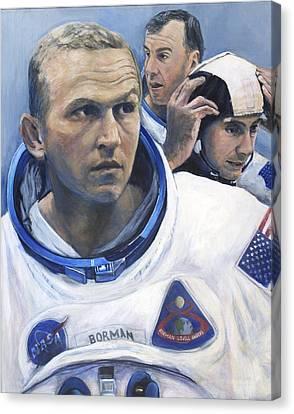 The Moment Before- Apollo 8 Canvas Print by Simon Kregar