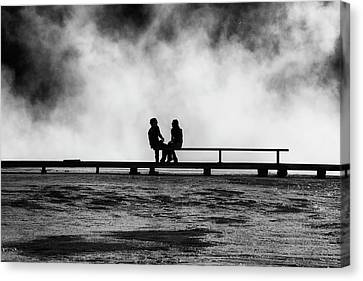The Moment Canvas Print by Mark Kiver