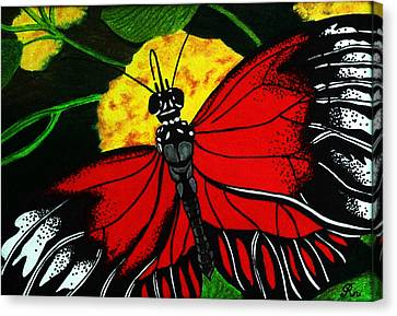 The Monarch Canvas Print by Ramneek Narang