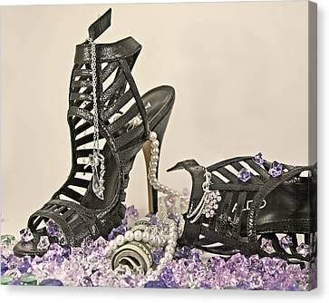 The Money Shoe Canvas Print by Jim Justinick