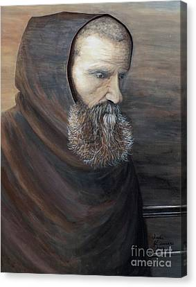 The Monk Canvas Print by Judy Kirouac