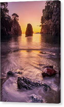 The Monolith Canvas Print