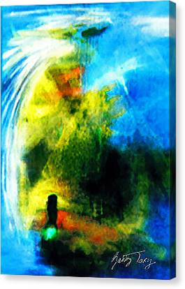 The Monster In Me Canvas Print