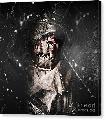 The Monster Scarecrow Canvas Print by Jorgo Photography - Wall Art Gallery