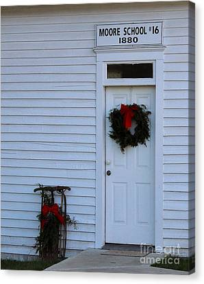 Appleton Canvas Print - The Moore Door by Tammy Miller