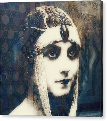 Silent Canvas Print - The More I See You , The More I Want You  by Paul Lovering