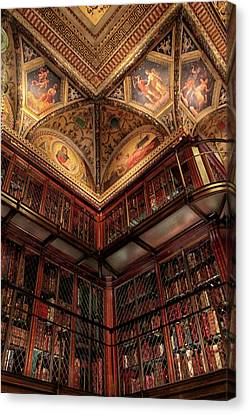 The Morgan Library Corner Canvas Print by Jessica Jenney