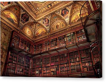 Canvas Print featuring the photograph The Morgan Library by Jessica Jenney