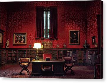 Canvas Print featuring the photograph The Morgan Library Study by Jessica Jenney