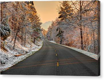 The  Morning Shines Canvas Print by Mike Eingle