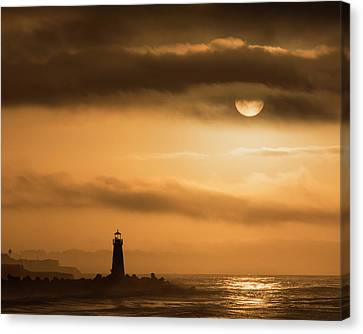 The Morning Sun Canvas Print by Bruce Frye