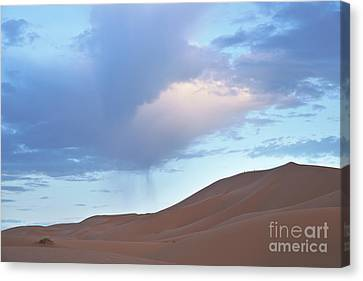 Canvas Print featuring the photograph The Moroccan Dunes by Yuri Santin