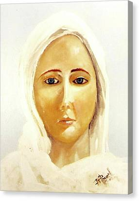The Mother Mary Canvas Print