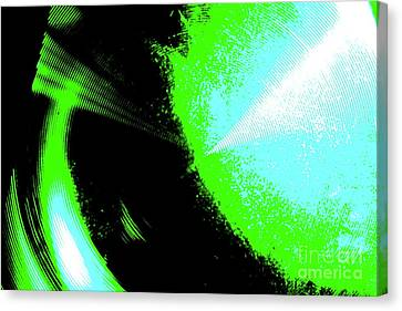 The Motion Of Energy- The Ripples We Make Canvas Print by Jesse Ciazza