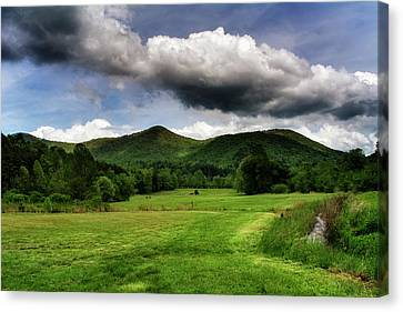 The Mountains Of Western North Carolina Canvas Print by Greg Mimbs