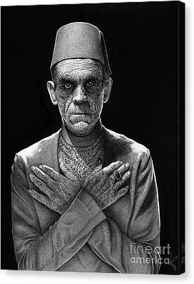 The Mummy Canvas Print by Wave Art