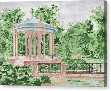 The Muny At Forest Park Canvas Print by Bill Torrington
