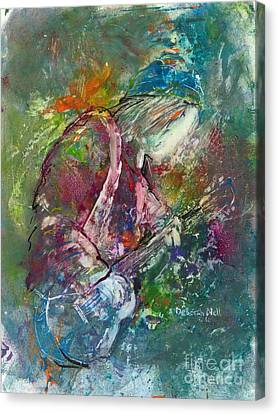 The Music Maker Canvas Print
