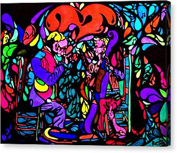 The Musicians Canvas Print by YoMamaBird Rhonda