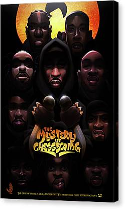 The Mystery Of Chessboxing Canvas Print by Nelson dedosGarcia