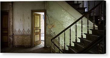 The Mystery Room - Urban Decay Canvas Print by Dirk Ercken