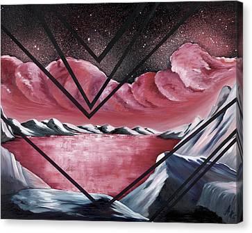 The Mystic Realm Canvas Print by Ara  Elena