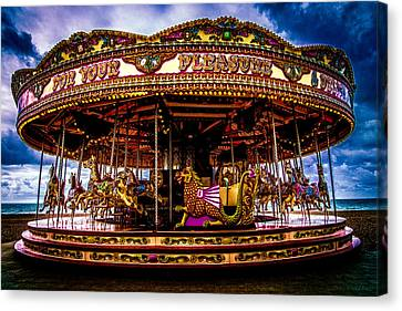 Canvas Print featuring the photograph The Mystical Dragon Chariot by Chris Lord