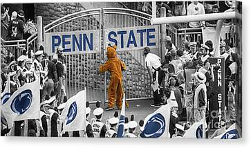Penn State University Canvas Print - The Name On The Gate by Tom Gari Gallery-Three-Photography