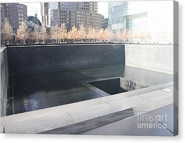 The National September 11 Memorial Canvas Print by John Telfer