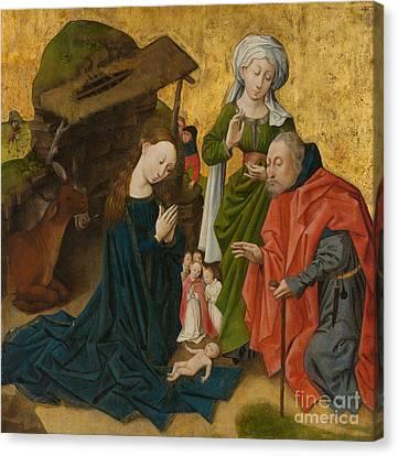 The Nativity Canvas Print by Dutch School