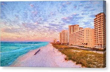 The Navarre Skyline Canvas Print by JC Findley