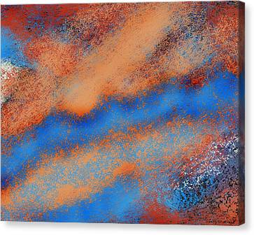 The Nebulous Future Canvas Print by Shelly Stallings