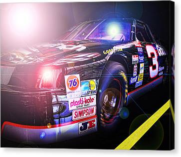 The Need For Speed 3 Canvas Print by Kenneth Krolikowski
