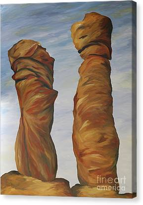 The Needles Chiriahua Canvas Print by Christiane Schulze Art And Photography